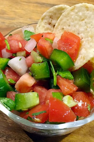 Pico De Gallo (Fresh Salsa)
