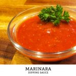 Want the perfect sauce to dip your favorite fried italian snacks in? Make this easy recipe using common pantry items to make marinara sauce in just minutes! | Tiny Kitchen Cuisine | http://tiny.kitchen