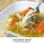 This chicken soup recipe is the granddaddy of all soup recipes! Grab a bowl of this delicious soup straight from the pot or add noodles for a homemade chicken noodle soup.   Tiny Kitchen Cuisine   http://tiny.kitchen