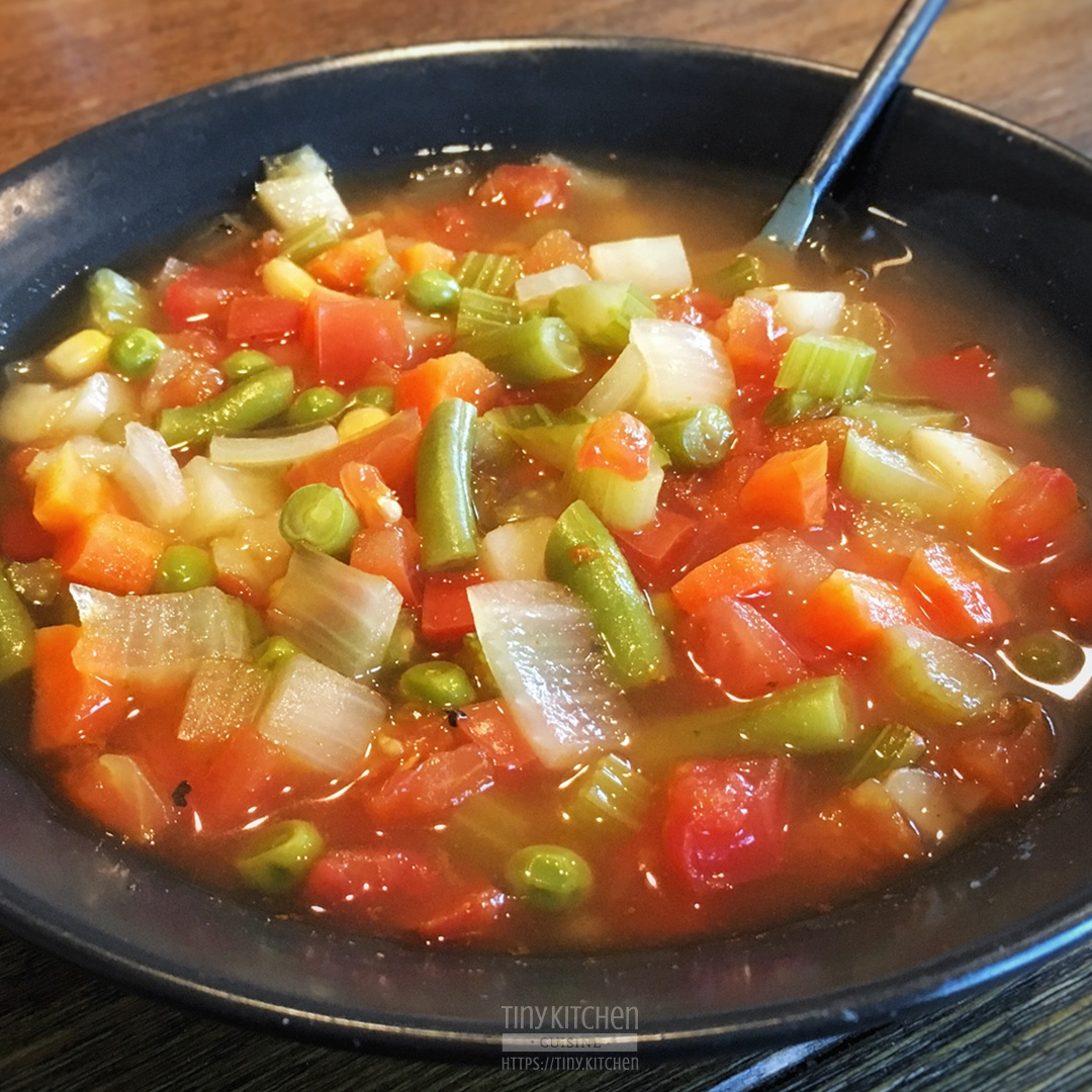 Homemade Vegetable Soup Recipe Easy And Delicious