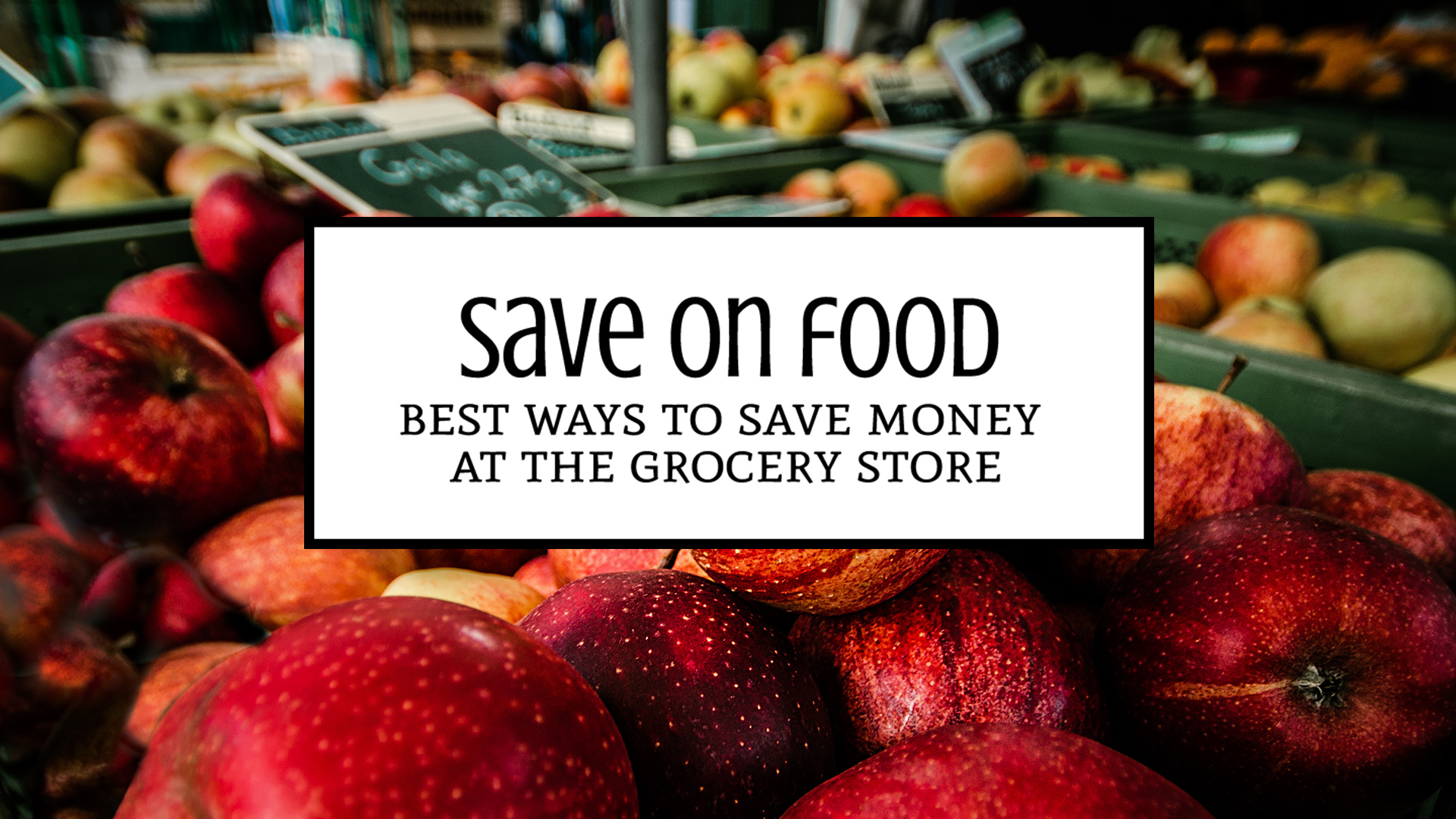 Frugal Cooking: The 10 Best and Easiest Ways to Save on Food at the Grocery Store: Just because we have tiny kitchens doesn't mean we can't save on food! These tips will help you end up with everything you need from the grocery store to feed your family and more money in your wallet. | Tiny Kitchen Cuisine | https://tiny.kitchen/