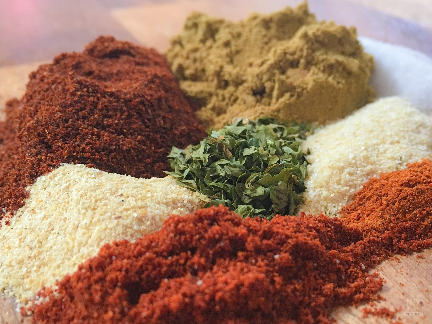 How to Make Homemade Taco Seasoning Mix | Tiny Kitchen Cuisine | https://tiny.kitchen/