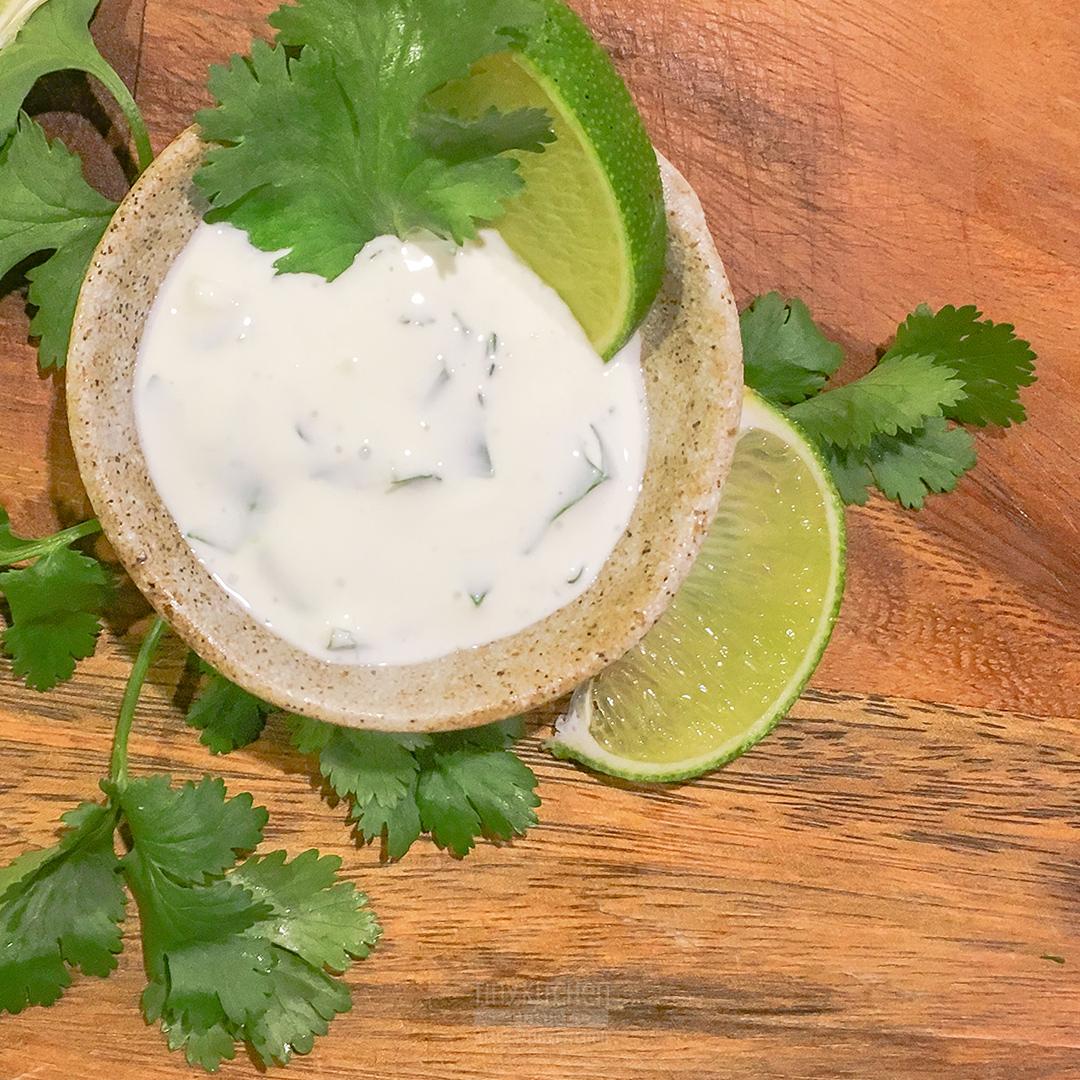 Cilantro Lime Dipping Sauce