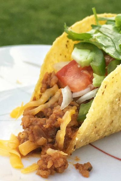 How to Make Vegetarian Tacos with TVP (Textured Vegetable Protein)