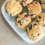 Better than a bakery, these delicious blueberry muffins are super easy to make and are toped with a crunchy sugar top.