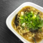 Ditch the takeout! This Hot and Soup soup is filled with varying textures and subtle flavors that add a whole new dimension to the classic Chinese-American soup.